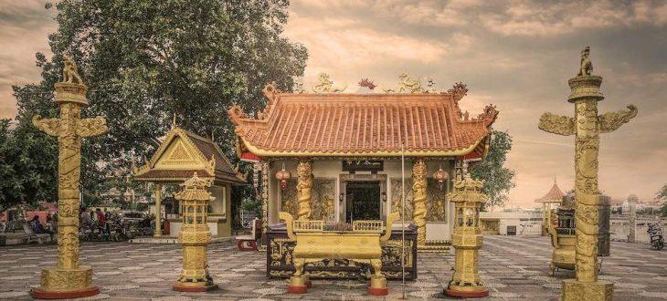 Un temple asiatique à découvrir