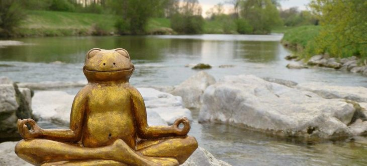 Le bien être qui s'écoule comme une rivière
